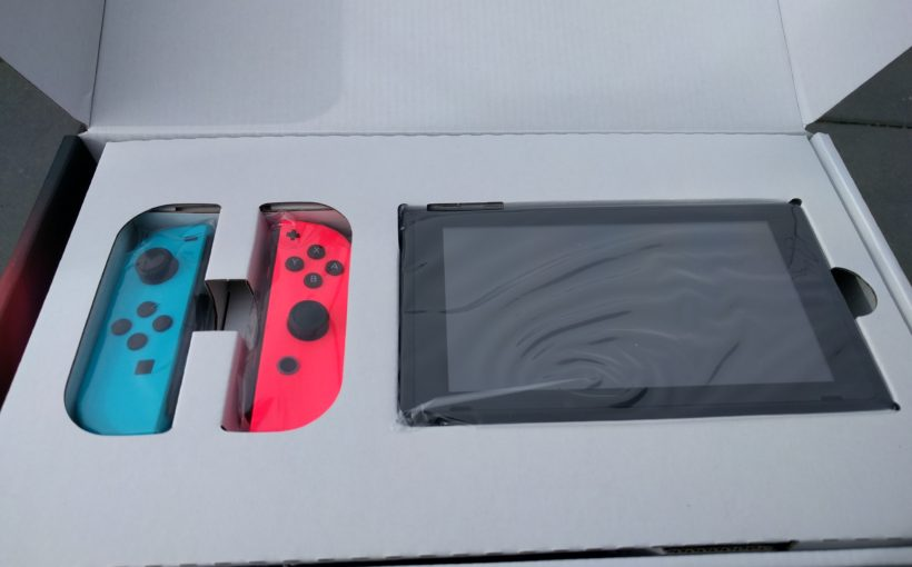 Switch Box unboxing