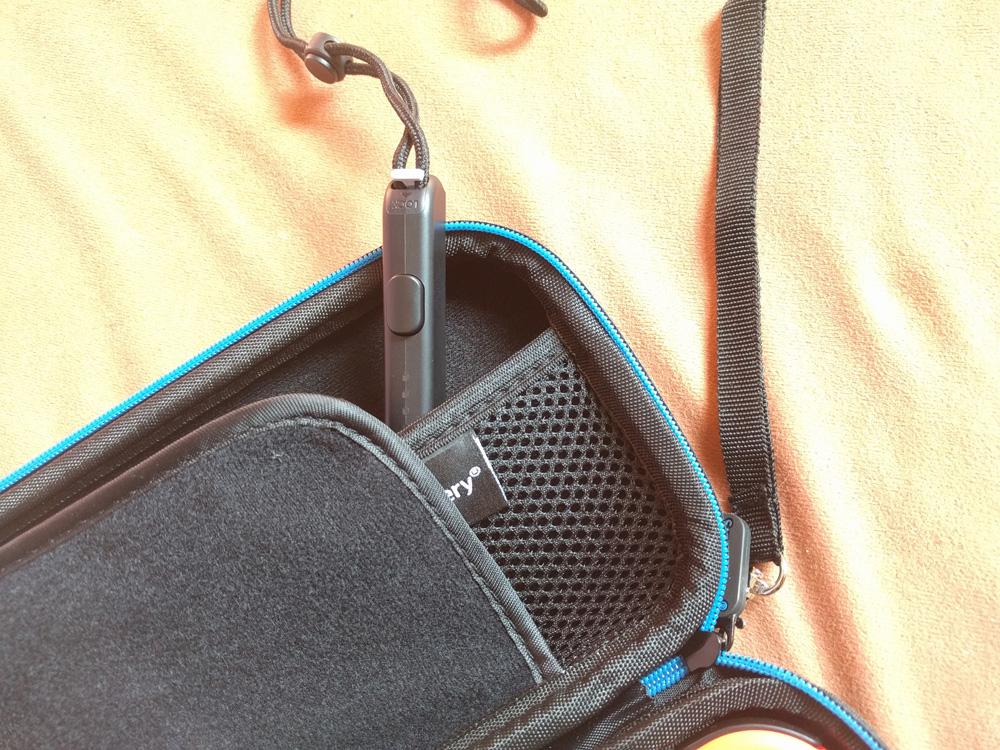 Schlaufen in Tasche