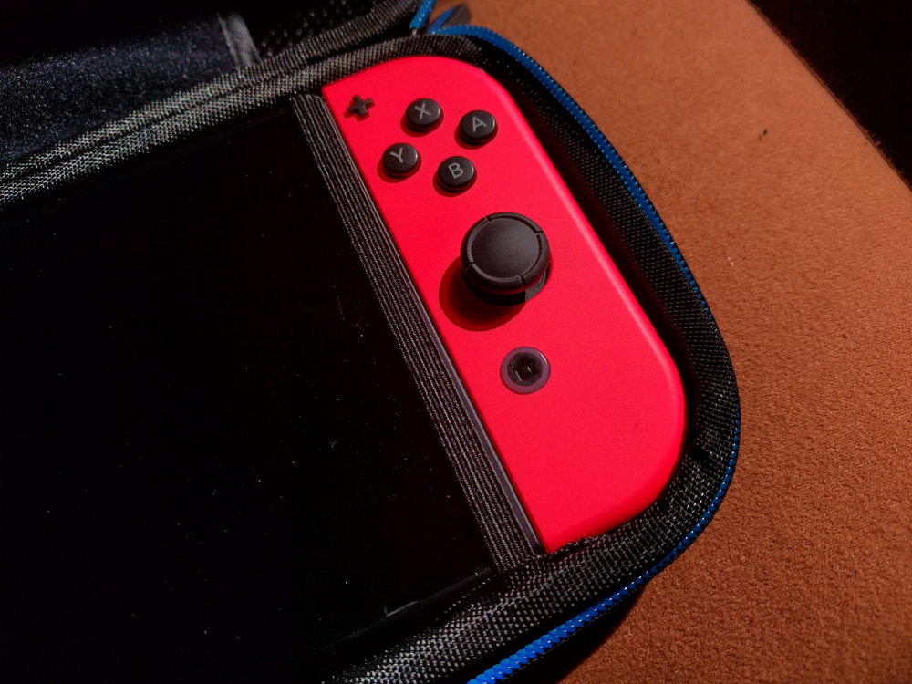 Tasche mit Halterungen für die Nintendo