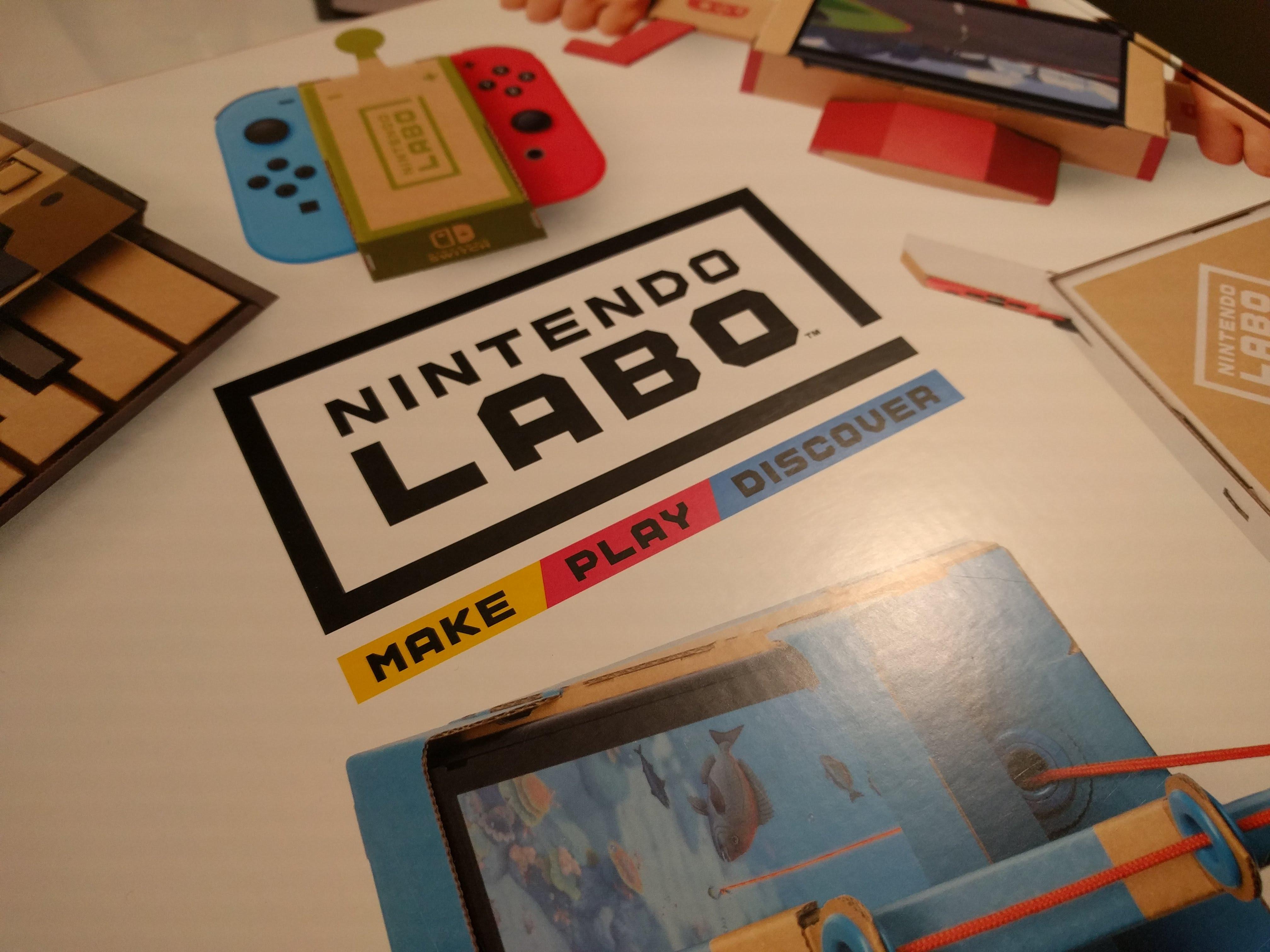 Nintendo Labo von außen